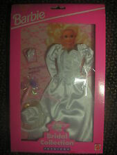 Barbie Bridal Collection Fashions1993Mattel Wedding White Dress #68065-94( Rare)