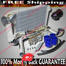 Intercooler + Piping Kits+Blow off Valve for 89-94 Nissan 240SX SR20DET KA24DE