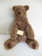 "VTG HANDCRAFTED BEARS & THINGS LARGE 18"" PLUSH STUFFED TEDDY BEAR VANCOUVER WA"
