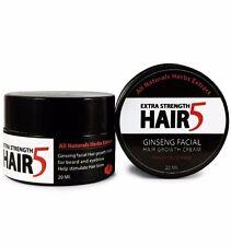 GINSENG FACIAL HAIR  GROWTH  CREAM  GROW MUSTACHE BEARD EYEBROW  FAST RESULT