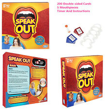 Speak Out Speakout Board Game Friend Party Mouthguard Mouthipiece Birthday Gifts