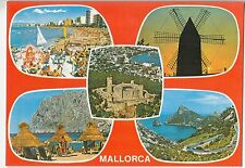 BF22750 mallorca wind mill moulen a vent  spain  front/back image