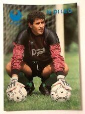 Cartolina Pubblicitaria Uhlsport Guanti Calcio - Nicola Di Leo Portiere Avellino