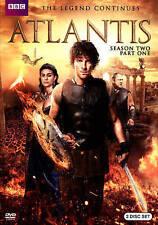 Atlantis: Season Two, Part One (DVD, 2015, 3-Disc Set) BBC