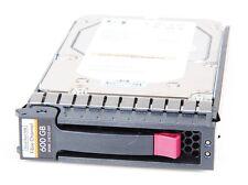 """HP 600 GB 10k FC EVA 3.5"""" Hot Swap Disco Rigido - 518735-001/ap732b"""