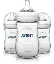 Philips Avent Natural Alimentación Botella Triple Pack 3 X 260ml/9oz Botella Set SCF693