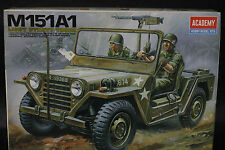 1/35 Academy US Army M151A1 Ford Mutt Jeep Vietnam War