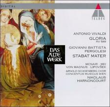 Scarce Vivaldi: Gloria; Pergolesi: Stabat Mater (CD, Jan-1994, Teldec (USA))