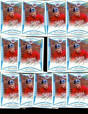 JEFF LANNING LOT OF 13 - 2008 1st BOWMAN CARD  ROOKIE CARDS TWINS ANKENY INDIANA
