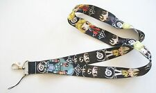 Anime Fullmetal Alchemist Edward Alphonse Multi Color Fabric Lanyard Key Chain