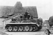 B&W WWII Photo German Tiger Tank 131 Bovington Pzkpfw. VI Panzer  WW2 / 4022