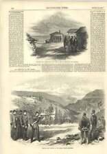 1856 inglese RIFLE pratica Ravine Sebastopoli ARMISTIZIO alleviare le Guard