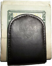 Leather Money Clip, magnetic money clip, Holds a stock of bills, Brand new