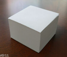 Blank Note Paper Cubes - #70 Stock-Padded 3 1/8 x 3 1/8