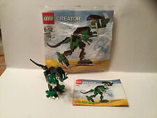 Lego Creator Brickmaster Dinosaur 20003 Complete w/Polybag Pre-Owned 2008