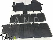 OPEL VIVARO 2 RENAULT TRAFIC 3 HIGH QUALITY RUBBER FLOOR MAT MATS INTERIOR SET
