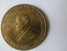 PRESIDENT WOODROW WILSON BRASS MEDAL.