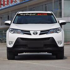 Toyota Racing Development TRD Black Base Front Windshield Banner Decal Sticker