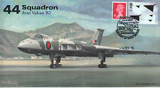 AV600 Avro Vulcan 44 Sqn RAF cover Farewell to Flight 4 Oct 2015 XH558 postmark