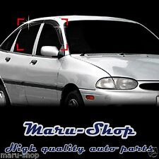 Smoke Door Window Vent Visor Deflector for 94~00 Ford Aspire/Festiva 5DR