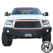 Rivet Black Stainless Steel Wire Mesh Grille Insert  for 10-13 Toyota Tundra