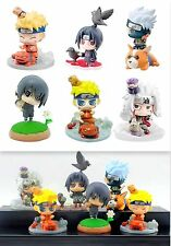 Naruto Anime Manga Figuren 6er Set H:6-7cm Super Cool Neu