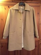 VINTAGE GLAMOROUS WINTER WARM WINDSMOOR TAILORED WOOL  CAMEL COAT SIZE 8