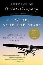 Wind, Sand and Stars by Antoine de Saint-Exupéry (2002, Paperback, New Edition)