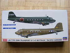 "L2D & C-47 Skytrain ""Pacific Carriers"" in 1/200, Hasegawa Kit #10687, Lim.Ed."