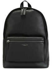 $850 MICHAEL KORS Mens BLACK LEATHER Jet Set Backpack School Work Briefcase BAG