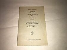 State Connecticut Statutes Affecting Funeral Directors And Embalmers Book 1930's