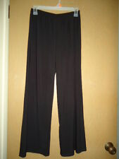 TIANA B Polyester/Spandex Black Pull On Pant, XS, Excellent Used!