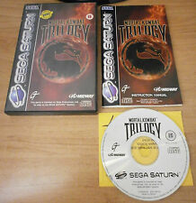 Mortal KOMBAT TRILOGY (PAL) - SEGA SATURN
