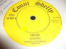 Upsetters - San-San/Osbourne Graham - Baby Don't Go count shelly rare