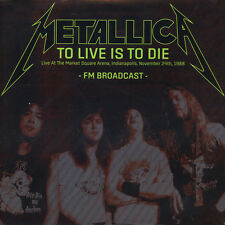 Metallica - To Live Is To Die: Live At The Ma (Vinyl 2LP - 2016 - EU - Original)