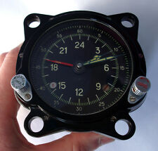 NEW!!! 129-ChS 55M Russian USSR Military AirForce Aircraft Cockpit Clock Achs-1