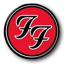 "Foo Fighters Logo - 25mm 1"" Button Badge - Colour, Dave Grohl"