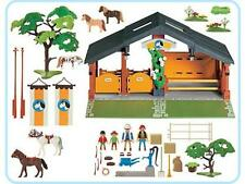 PLAYMOBIL 3120  - CENTRE EQUESTRE EQUITATION - THEME CHEVAL - COMPLET