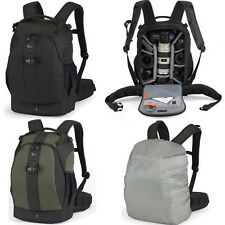 Waterproof Lowepro Flipside 400 AW DSLR Camera Backpack Bag Padded & Rain Cover