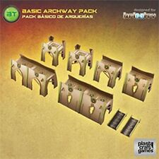 Plastic Craft Games: Basic Archway Pack (28mm gaming terrain) INF018 New