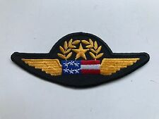 CONTINENTAL AIRLINES (AIR MICRONESIA) PILOT CLOTH SHIRT WINGS