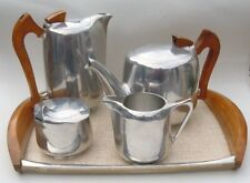 Service à thé café Picquot Ware set tea pot coffee milk jug sugar bowl tray