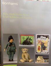 Bonhams Auction Catalogue Toys Dolls Teddy Bears & lead figures 12/06/2007