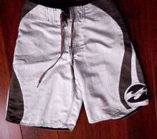 Billabong board shorts boys mens sz 30 beige brown beach swim water surf