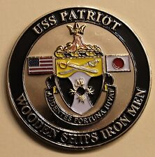 USS Patriot (MCM-7) Backbone of Navy Chief's Mess Navy Challenge Coin