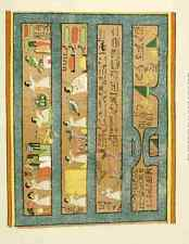 A4 Photo Ancient The History of Egypt 1901 Decoration Print Poster