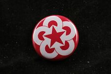"""COMECON Council Mutual Economic Assistance Cold War Button 1"""" Soviet Made in USA"""