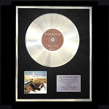 KID ROCK BORN FREE CD PLATINUM DISC FREE P+P!!