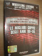 DVD N°17 WRESTLING LEGENDS LE MIGLIORI COPPIE DEGLI ANNI 80-90 SILVER VISION