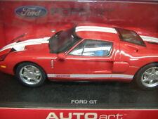 AutoArt 13081 analoges Rennbahnauto Slotcar Ford  GT rot 1:32 NEU & OVP